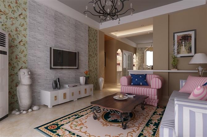 室内设计效果图,简欧   现代风格室内设计,简